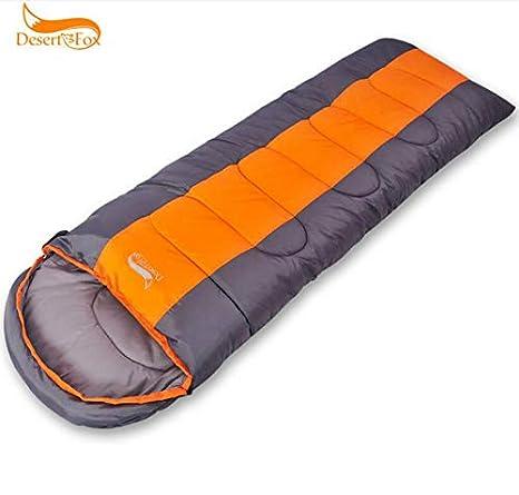 Marbeine Saco de Dormir, Saco de Dormir Sobre Adultos térmico en Plein Air Viaje Camping