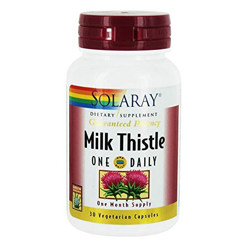 Solaray - Milk Thistle One Daily - - 30 vegetarian capsules