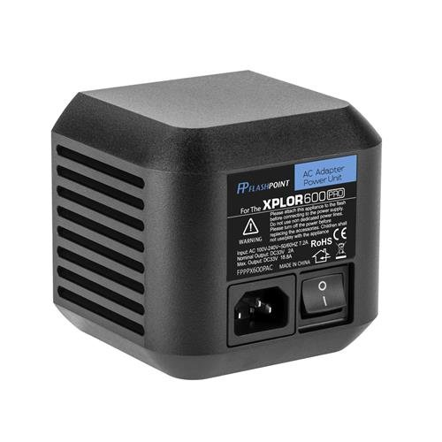 Flashpoint AC Adapter Unit for The XPLOR 600 Pro R2 Series Monolights (Godox AC-26) by Flashpoint