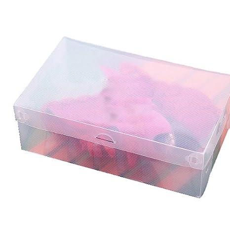 Amazon.com: Plastic Transparent Man Shoebox Storage Box Mouldproof Box BML Brand // Caja de almacenamiento de plástico transparente caja de zapatos hombre ...