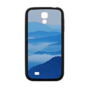Blue Misty Mountains Hight Quality Protective Case for Samsung Galaxy S4