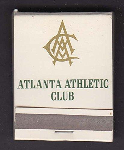 - Atlanta Athletic Club East Lake Country Club Lanier Yacht Club matchbook