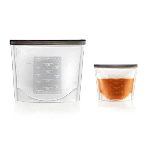 reusable freezer bags silicone - 7