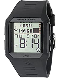 Men's A1119-BLK Rifles Tide Digital Display Quartz Black Watch