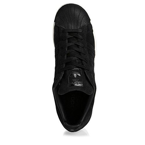 adidas Superstar, Scarpe da Corsa Uomo Nero (Negbas / Negbas / Negbas)