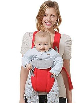 1ef1f4ef02d6 Hivel Respirante Porte Bebe Kangourou Echarpe de Portage Ventral Dorsal  Transporteur Sac Baby Carrier Baby Sling
