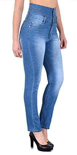 J372 bleu claire Jeans en pantalon skinny femme tex Jean J22 haute femme taille by jean a7wqn