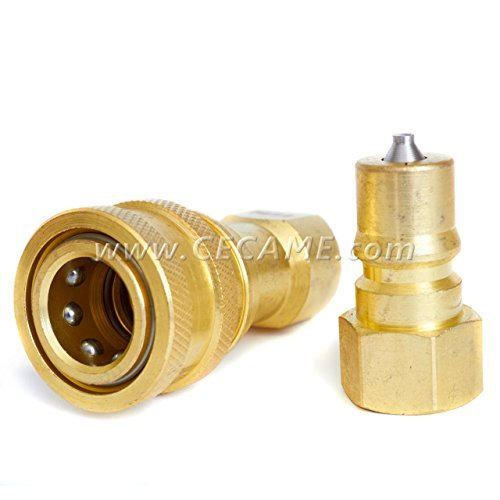 1/4'' Quick Disconnect Coupler Valve For Carpet Cleaning Wand Truckmount QD by DT
