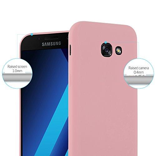 Cadorabo - Cubierta protectora para Samsung Galaxy A3 (7) - Modelo 2017 de silicona TPU en diseño Candy