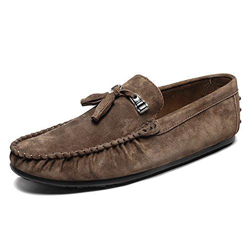 alla guida Casual della scarpe Skid Scarpe di L'uomo alta qualit vettura qUw514Ud