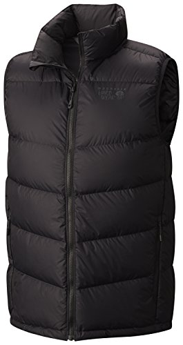 Mountain Hardwear Lightweight Vest - Mountain Hardwear Ratio Down Vest - Men's Black Large