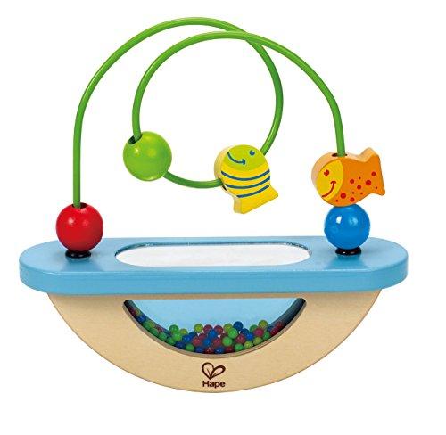 Hape Fish Bowl Fun Kid's Wooden Bead Maze