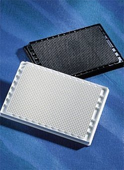 CORNING 3798 Clear Polystyrene Not Treated Microplate without Lid, 96 Round Bottom Well, Nonsterile, Special Process ()