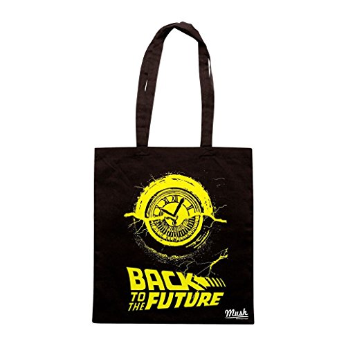 Borsa Ritorno Al Futuro Clock Tower - Nera - Film by Mush Dress Your Style