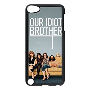 Alta resolución N9O16 Our Idiot Brother Poster T8P9DM funda iPod Touch funda 5 casos cubren WT1JBT2GR negro