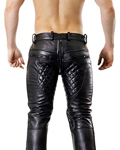 Noir Zip zip Pour Bockle 5g Matelassé Hommes Grâce Pantalon wxgqcvZ6Bz