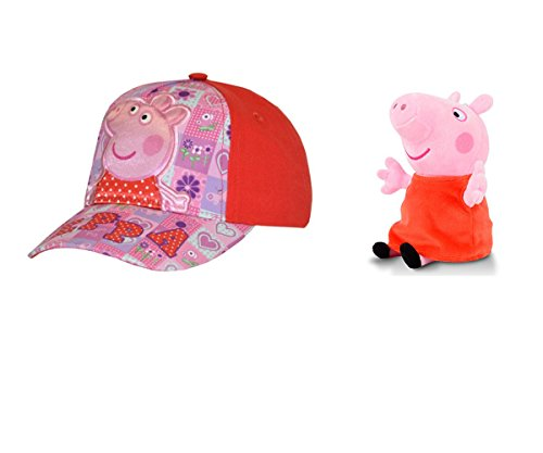 Peppa Pig Baseball Hat Adjustable Girls Cap with Peppa Pig 7