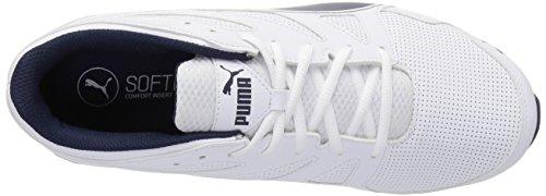 Puma Mens Tazon Modern SL FM Sneaker Puma White/Peacoat