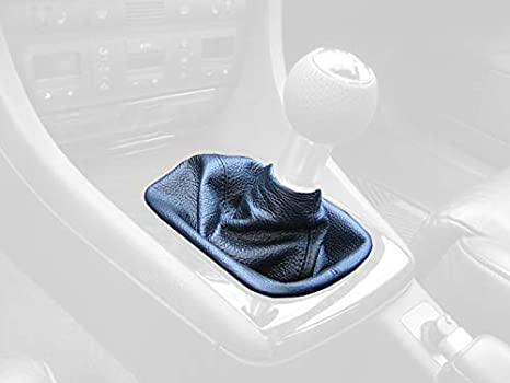 RedlineGoods Shift Boot Compatible with Scion tC 2011-15 Red Leather-Black Thread