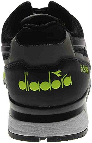 Diadora Heren N9000 Lichte Bescherming Zwart / Geel Fluo