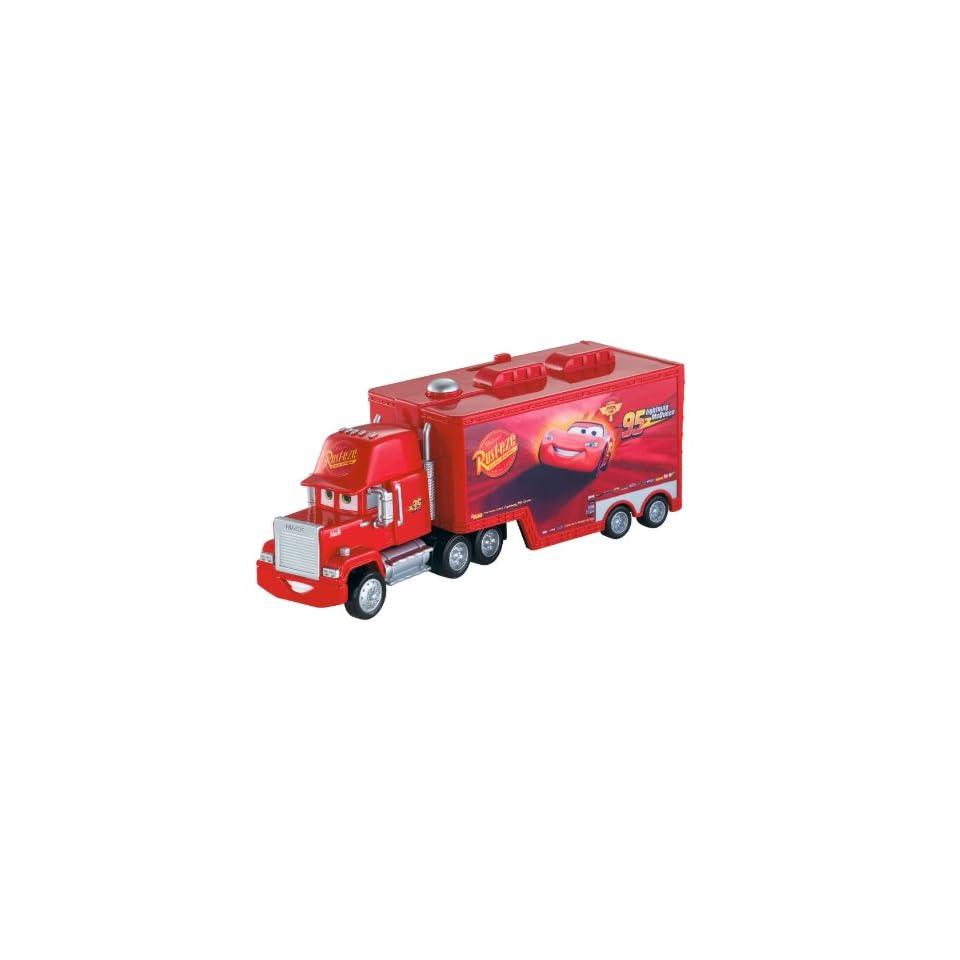 Disney / Pixar Cars Mack Truck Transporter 16 Car Carrying