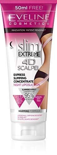 Eveline Cosmetics Slim Extreme 4D SCALPEL Express Slimming Concentrate Night Liposuction Cream
