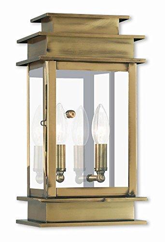 Antique Brass Outdoor Lighting