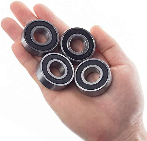 lot de 4 double joint en caoutchouc pr/é-lubrifi/és 30 mm x 47 mm x 9 mm FUSHIBEARING Roulements /à billes 6906-2RS /à gorge profonde