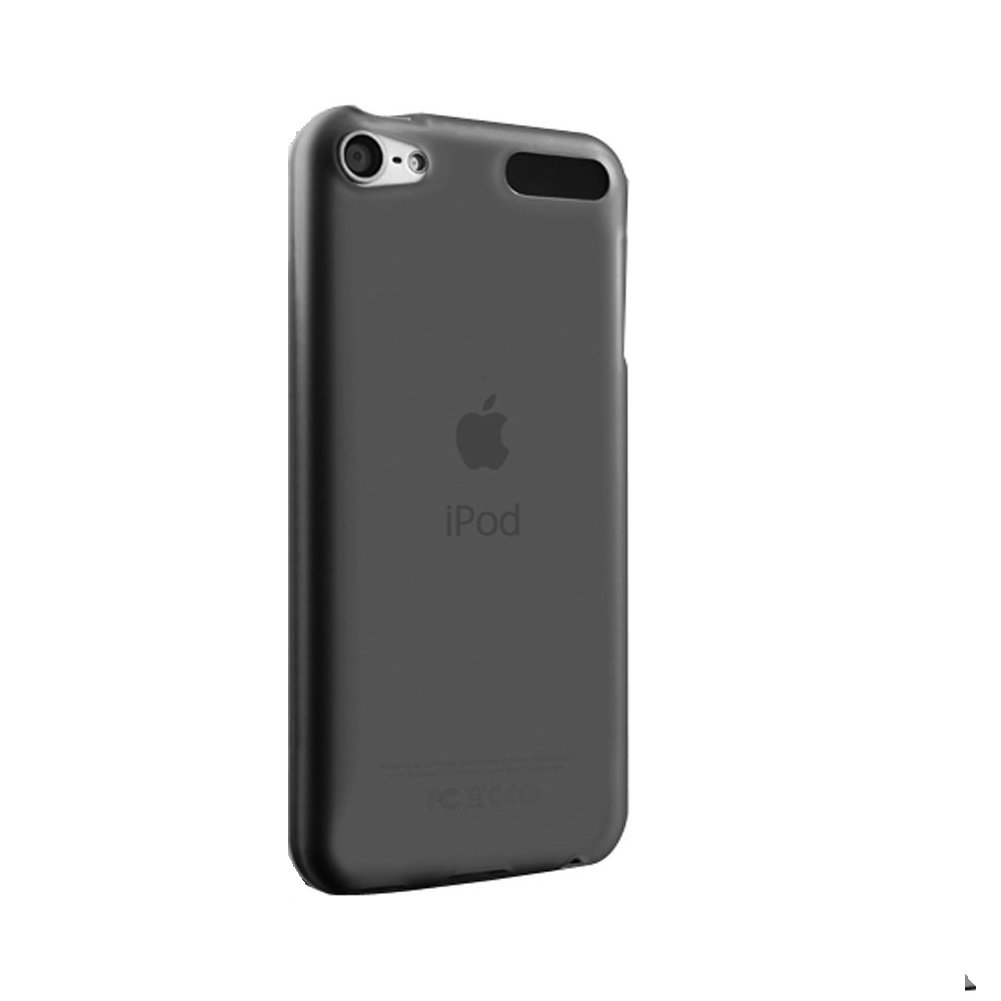 APPLE ipod touch 6 / 5 case, KuGi ® frosted style High quality ultra-thin Soft TPU Case for New iPod Touch 6th / 5th Generation. (Black)
