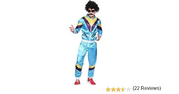 1980s para hombre traje de neopreno para mujer Chándal para ...
