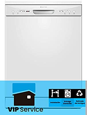 LAVAVAJILLAS MILECTRIC LPL-306 Blanco (A+, Control Electronico ...