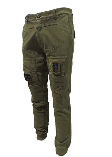 Aeronautica Felpa Pantalone Tuta Pf677 Uomo Verde Frecce Tricolori Militare Jersey Polo qq7WgFrw4U