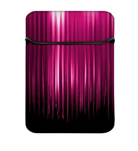 Snoogg 30,5cm Tablet Sleeve Gepolsterte tragbar Reißverschluss MacBook iPad Pro mit Displayschutzfolie Tasche für die meisten 1111,630,5cm Ultrabook Tablet Netbook Laptop Chromebook–Schwarz mehr RPC-6104-LSLVS-POUCH-12