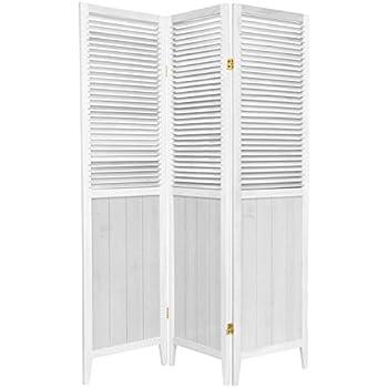 This item Oriental Furniture 6 ft  Tall Beadboard Divider   White   3 Panels. Amazon com  Oriental Furniture 6 ft  Tall Beadboard Divider