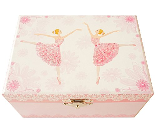 Lily & Ally / Flower Ballerina Musical Jewelry Box, with Melody of 'Waltz of the Flowers / the Nutcracker'