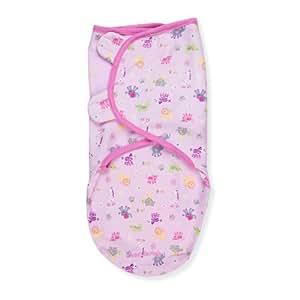 Summer Infant Swaddleme Adjustable Infant Wrap, Girl Jungle Chic