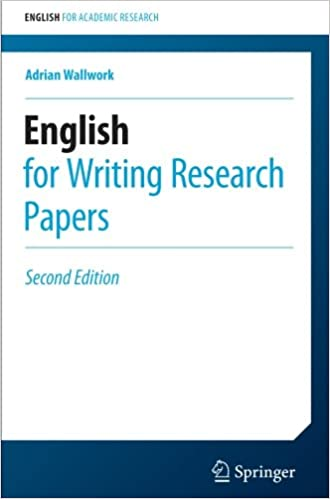 English for Writing Research Papers (English for Academic Research ...