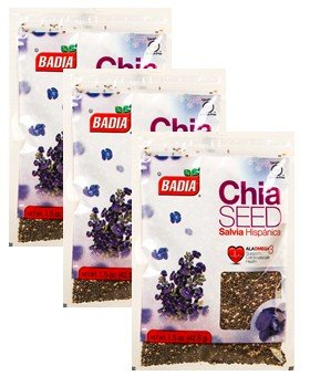 Badia Chia semillas – -1,5 oz (Pack de 3): Amazon.com ...