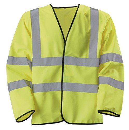 Vis maglia XXXXXX Hi 8010011 grande colore Blackrock manica giallo lunga Uomo di qRtU4Y