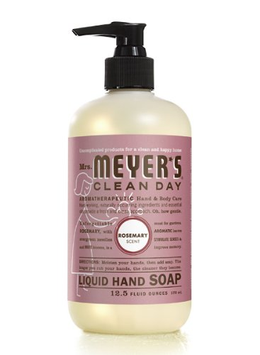 Mrs. Meyers Liquid Hand Soap - Rosemary - 12.5 oz - Pack of