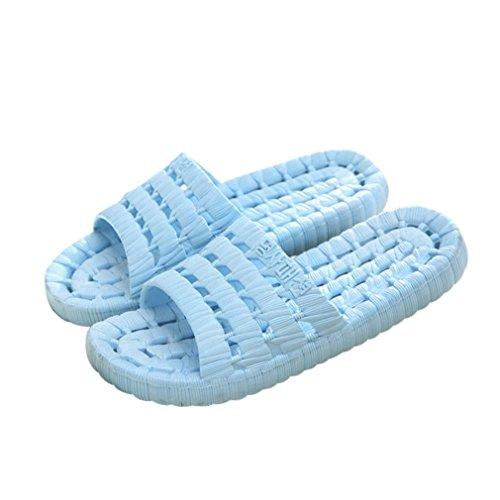 Oyedens Damen Herren Bumblers Summer Massage Schnelles Trocknen Sandalen Damen Himmelblau