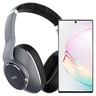 Samsung Galaxy Note 10+ Plus Factory Unlocked Cell Phone with 256GB (U.S. Warranty), Aura White/ Note10+ w/AKG N700NC Headphones