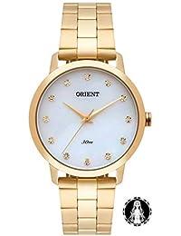 Relógio Orient Feminino Ref: Fgss0110 B1kx Casual Dourado