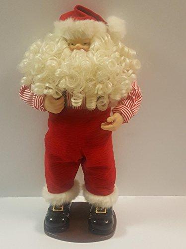 Dillard's Trimmings Jingle Bell Rock Dancing Santa ()