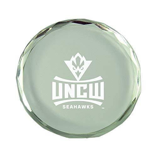 University of North Carolina Wilmington-Crystal Paper Weight