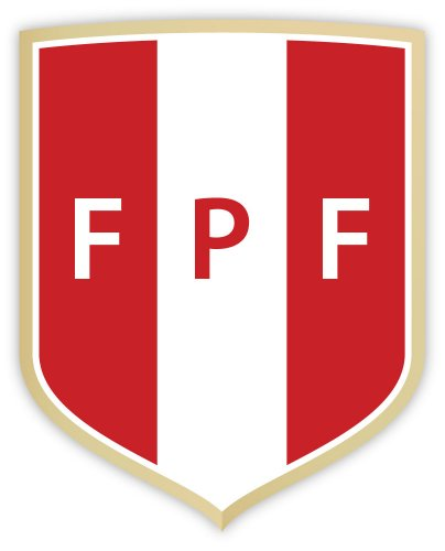 "Peru FPF Perú Federacion peruana de futbol National Football Association sticker decal 4"" x 5"""