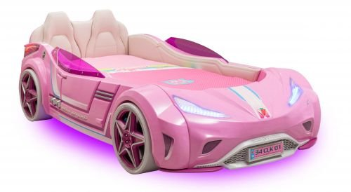 Cilek GTI LED Autobett PINK online kaufen