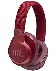 JBL Live 500BT draadloze over-ear hoofdtelefoon, rood