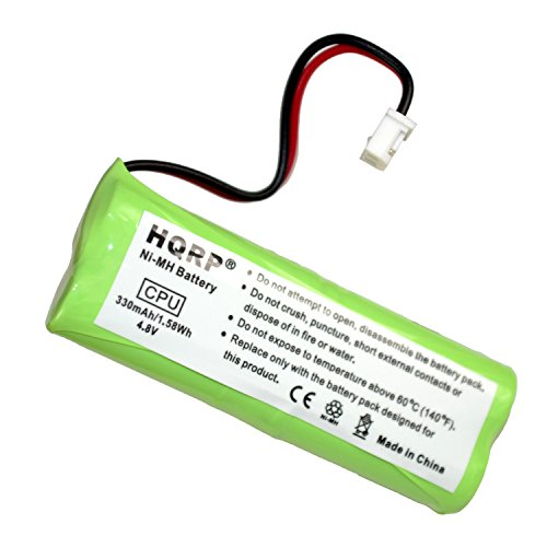 HQRP Battery for Dogtra BP12RT BP-12 28AAAM4SMX 30AAAM4SMX 40AAAM4SMX AAAM4SMX ACNMH101 1200 1400 Series 1202NC 1202-NCP 1400-NCP 1402-NCP Collar Receiver Replacement + Coaster -