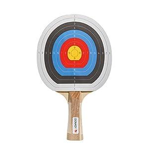 Donkey Tischtennisschläger, Zielscheibe, 2 Bälle, Ping Pong Bulls Eye, 330804